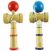 Special Traditional Kendama Ball Wood Wooden Educational Game Skill Toy Z0utaw