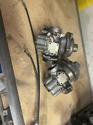 Bmw R100/7 Airhead Bing Carbs Carb Body Carburetor Left Right Oem Cables 1977