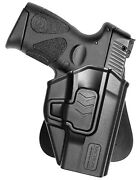 Tactical Scorpion Gear Level Ii Polymer Paddle Holster Fits Taurus G3