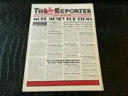 August 27 1935 Hollywood Reporter Vintage Movie Magazine More Money For Films