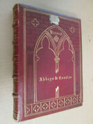 Howitt Ruined Castles And Abbeys 1864 Illustrated With Vintage Photographs Leather