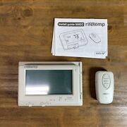 Ritetemp 7-day Programmable Thermostat Model 8082c With Remote