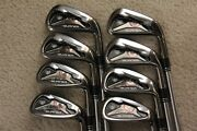 Taylormade Burner Tp Tour Preferred Irons 3-pw Dynamic Gold S200 Steel Shafts