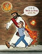 1-2-3 Walk In Step With Me A Pure-as-gold Seal Adventure Bible Study Workbook