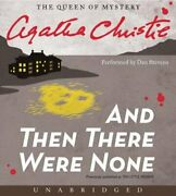 And Then There Were None Cd By Agatha Christie New Audiobook