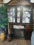 Cabinet Cabinet With Fire Place Worth 1500 In Good Condition
