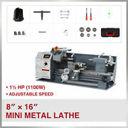 1100w 8x16 2250rpm Mini Metal Lathe W Brushless Motor For Woodworking And More