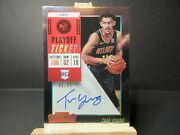 2018 Panini Contenders Playoff Ticket Trae Young Rc 142 02/65 See Description