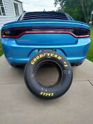Dale Earnhardt Sr Full Size Race Used Tire Goodyear Eagle W Cert Of Authenticity