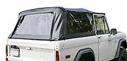 Rampage 98401 Complete Top Frame And Hardware 66-77 Bronco Black