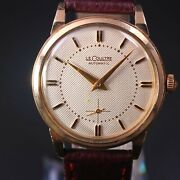Jaeger Lecoultre Antique Automatic Bumper Type Caliber P812 Mounted Gold Filled