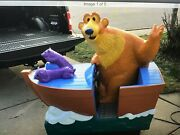 Coin Operated Arcade Boat Kiddie Ride Works Great