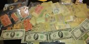 Paper Money And Old Stamp Us Collection Lot 1988 20 Bill1934 C And A Ten Bill