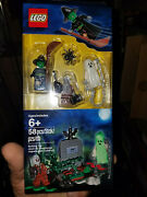 Lego Halloween Accessory Set 850487 New Sealed Witch Ghost Zombie Grave Spider