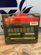 Kd Tools 91272 Sae 6-point Socket Set 11 Piece 3/8 Drive Made In Usa
