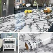 Livelynine 197 X 36 Inch Wide Marble Contact Paper For Countertops