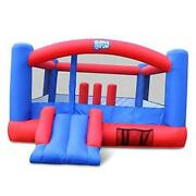 Inflatable Bounce House | Giant 12x10.5 Feet Blow-up Jump Bouncy Castle For