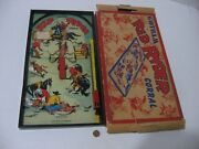 Vintage 1950 Gotham G115 Red Ryder Corral Bagatelle Pinball Table Top Game -rare