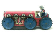 Marx Giant Reversing Tractor Truck, Wind-up, Vintage 1950's, Ny 200-5-ave