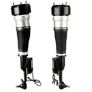 Front Right Left Air Suspension Shock Air Spring Struts For Mercedes 221 S350