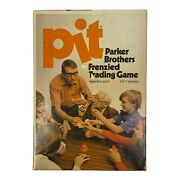 Vintage 1973 Pit Parker Brothers Frenzied Trading Card Game Complete W/ Bell