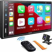 Double Din Car Stereo 7 Inch Full Hd Capacitive Touchscreen - Backup Camera