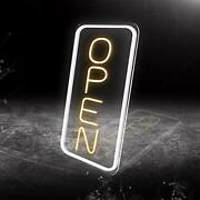 Cob Led Neon Open Sign, 16x 9new Electric Signs, Ultra Bright For Busines Sign