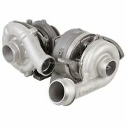 For Ford Super Duty 6.4 Powerstroke Diesel 08-10 Compound Turbo Turbocharger Dac