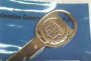 Nos Cadillac Gold Key - And039hand039 Fits Door Trunk Glovebox Key For Classic Cadillacs