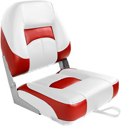 Boat Seat Boating Chair For Fishing Folding Vinyl And Compression Foam Cushion
