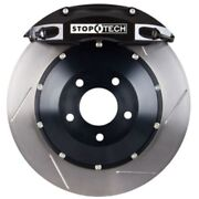 Stoptech 83-328460051 Front Big Brake Kit 332mm X 32mm 2 Piece Slotted Rotors Bl