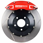 Stoptech 83-780004671 Rear Big Brake Kit 332mm X 32mm 2 Piece Slotted Rotors Red