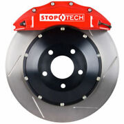 Stoptech 83-657670071 Front Big Brake Kit 355mm X 32mm 2 Piece Slotted Rotors Re