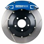 Stoptech 83-896670021 Front Big Brake Kit 355mm X 32mm 2 Piece Slotted Rotors Bl