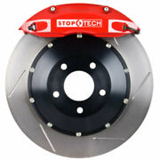 Stoptech 83-166005871 Rear Big Brake Kit 380mm X 32mm 2 Piece Slotted Rotors Red