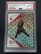 2018-19 Revolution Basketball Trae Young Hawks 150 Rookie Rc Groove Psa 10