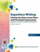 Expository Writing 50 Step-by-step Lesson Plans With Formative Assessment New