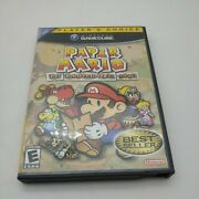 Paper Mario The Thousand-year Door Gamecube 2004 Case And Game Only. Tested