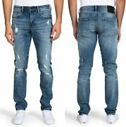 Prps Goods And Co. Ripped Skinny Jeans For Men – Stretch Slim Fit Denim Pants