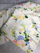 Sheet Royal Family Cannon Fitted + Pillowcase Percale Floral Bed Cottage