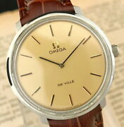 Secondhand Omega Devil Tool 104 Men's Watches One-piece Case Hand-wound Vintage
