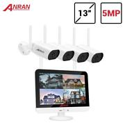 5mp Cctv Nvr Wireless Security Camera 8ch System Waterproof Outdoor