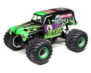 Losi Lmt Grave Digger Rtr 1/10 4wd Solid Axle Monster Truck [los04021t1]
