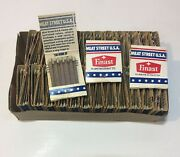 New Old Stock Box Of 50 Vintage Finast Matches Advertising