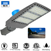 10pack 300w Led Parking Lot Lights With Dusk To Down Photocell[800w Hps Equiv.]