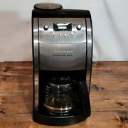 Cuisinart Automatic Grind And Brew Coffee Maker 10 Cup Glass Carafe Dcc-490sa