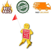 Drive Like Your Kids Live Here Safety Kid Sign / Slow Down Children At Play Visu