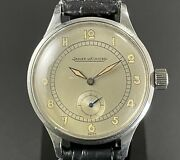 Jaeger Lecoultre Antique Military Watch Hand-wound Champagne Color Dial Men's
