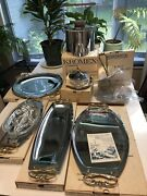 Vintage Mcm Kromex Chrome Made Usa 7 Wedding Gifts In Boxes Ice Bucket, Tidbit