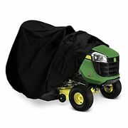 Indeedbuy Riding Lawn Mower Cover Waterproof Tractor Cover Fits Decks Up To